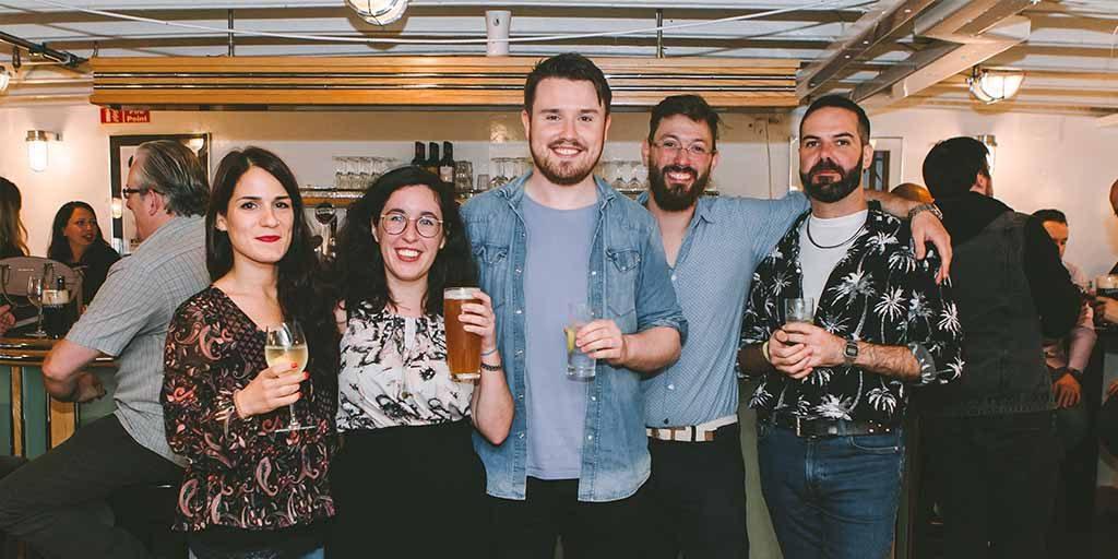 vistatec summer party 2019 staff